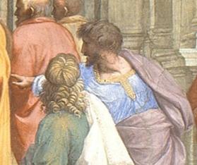 Raffaello Sanzio, La Scuola di Atene - 5