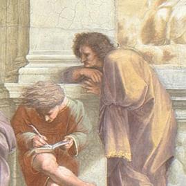 Raffaello Sanzio, La Scuola di Atene - 6