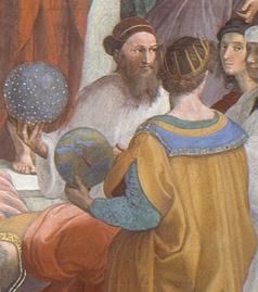 Raffaello Sanzio, La Scuola di Atene - 7