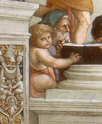 Raffaello Sanzio, La Scuola di Atene - 8