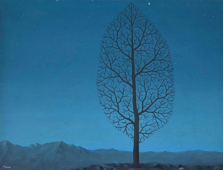René Magritte, La ricerca dell'assoluto, 1950 circa