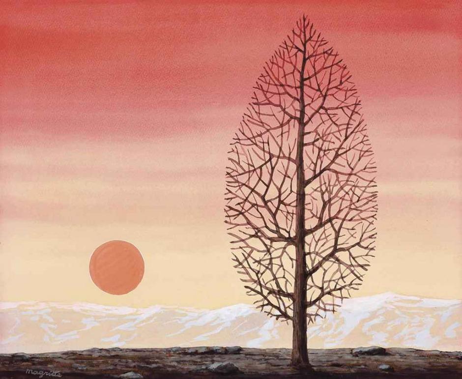 René Magritte, La ricerca dell'assoluto, 1960