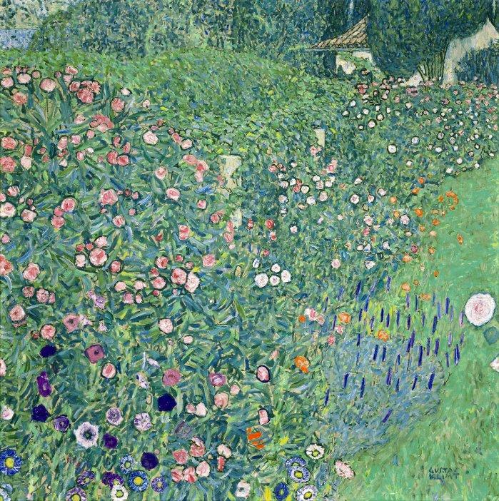 Gustav Klimt Giardino italiano quadro paesaggio