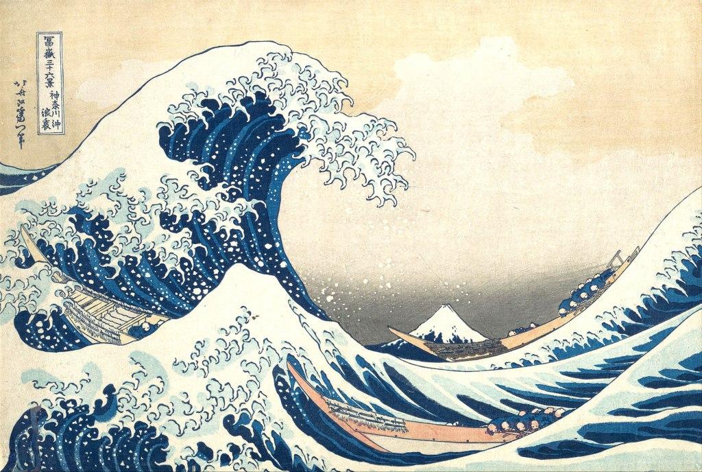 Hokusai, La grande onda di Kanagawa, 1830-31