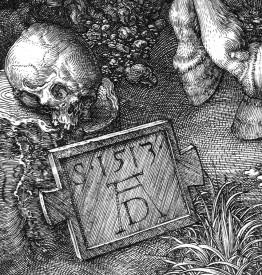 Albrecht Durer, Il cavaliere, la morte e il diavolo-dett5