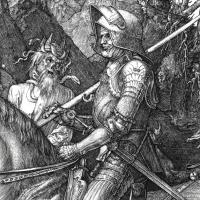 Il mistero de 'Il Cavaliere, la morte e il diavolo' di Dürer secondo Borges e le sottoscritte