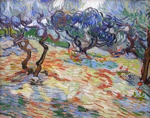Vincent Van Gogh, Olivi, 1889