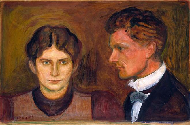 Edvard Munch, Aase og Harald Nørregaard, 1899