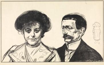 Edvard Munch, Anna e Walter Leistikow, 1902