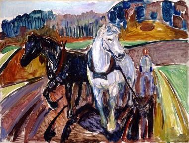Edvard Munch, Aratura autunnale, 1919
