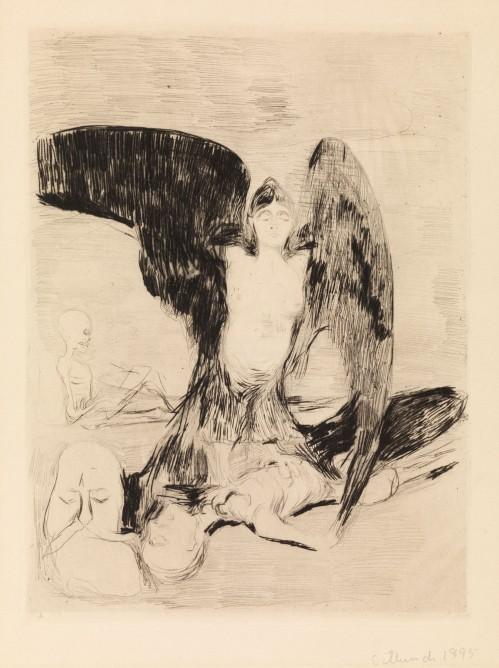 Edvard Munch, Arpia, 1894