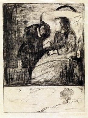 Edvard Munch, Bambina malata, 1894