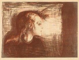 Edvard Munch, Bambina malata I, 1896