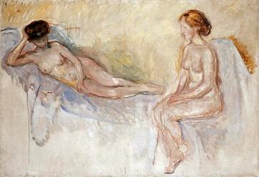 Edvard Munch, Due nudi, 1903