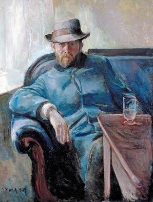 Edvard Munch, Hans Jaeger, 1889