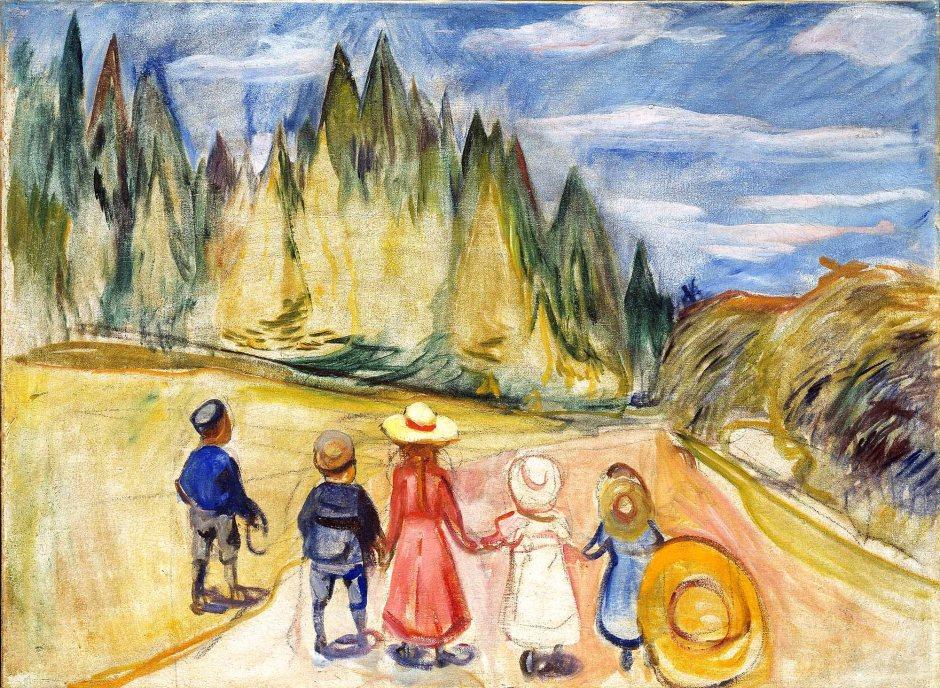 Edvard Munch, La foresta delle fiabe, 1901-02