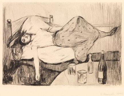 Edvard Munch, Il giorno dopo, 1894