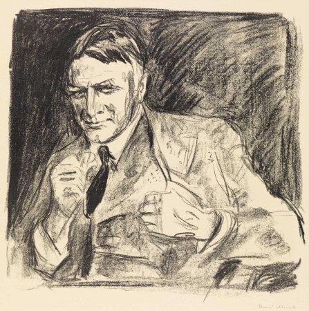 Edvard Munch, L'architetto Henrik Bull, 1928