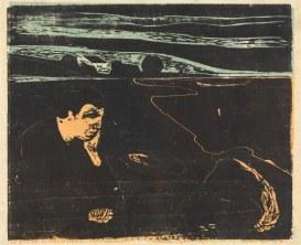 Edvard Munch, Sera. Malinconia I, 1896
