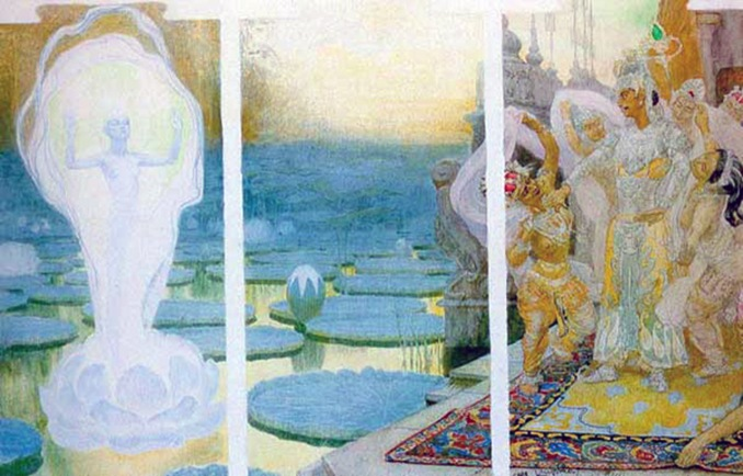 František Kupka, L'anima di loto, 1898