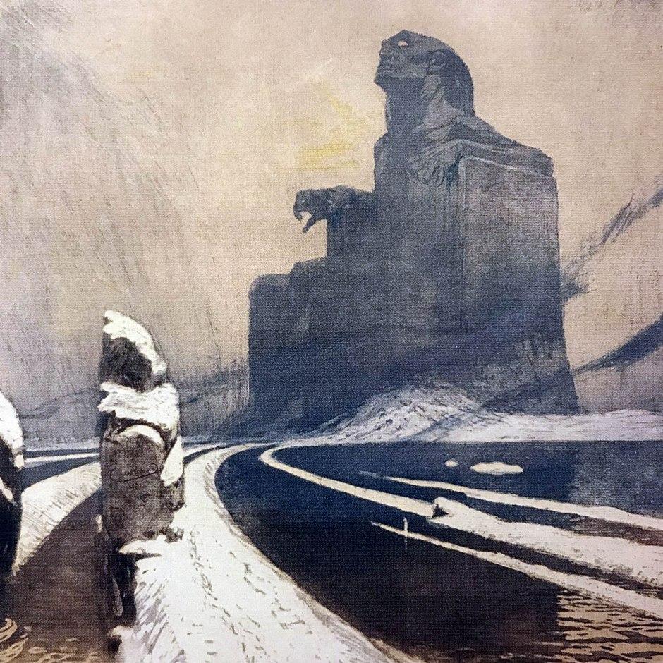 Frantisek Kupka, Idolo nero, 1903