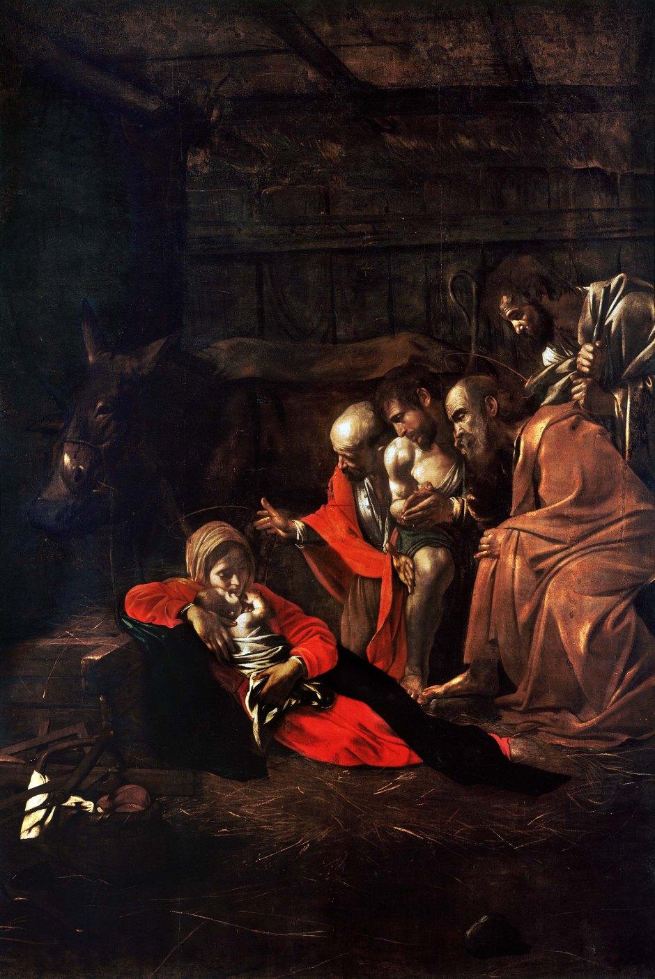 Michelangelo Merisi detto il Caravaggio, L'adorazione dei pastori, 1609