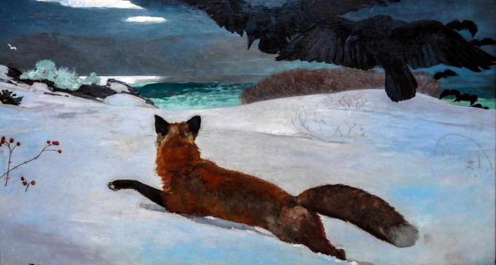 Winslow Homer Caccia alla volpe