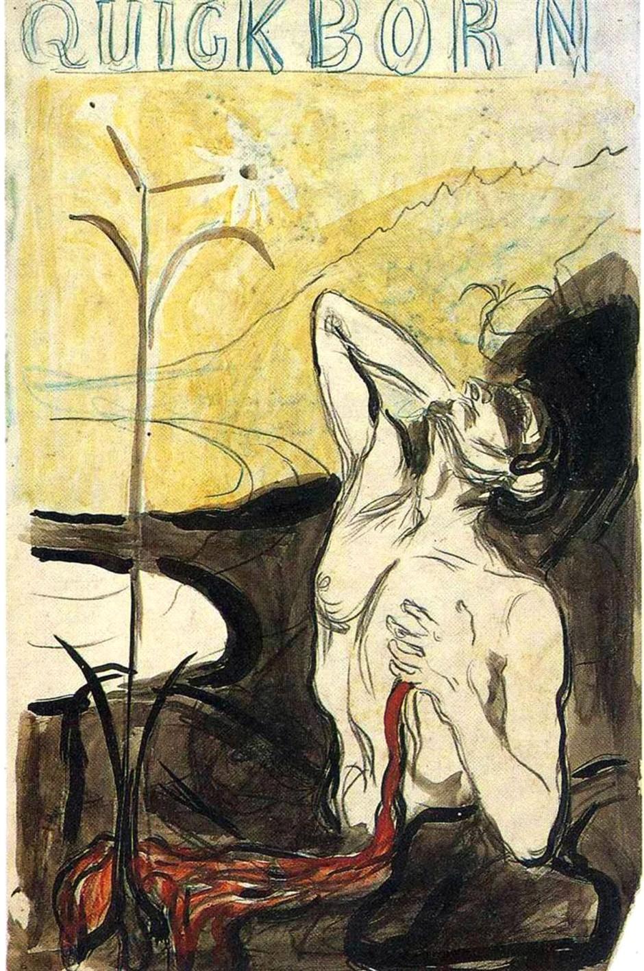 Edvard Munch, Il fiore del dolore, 1897