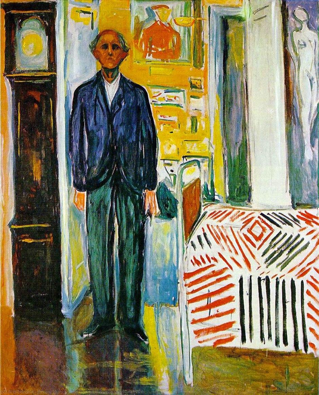 Edvard Munch, tra il letto e l'orologio, 1940-43
