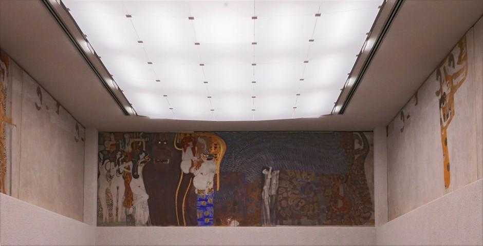 Gustav Klimt, Fregio di Beethoven, 1902, ambiente