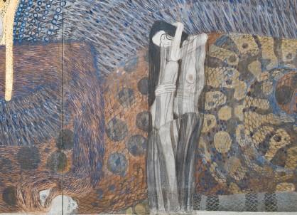 Gustav Klimt, Fregio di Beethoven, dettaglio 2