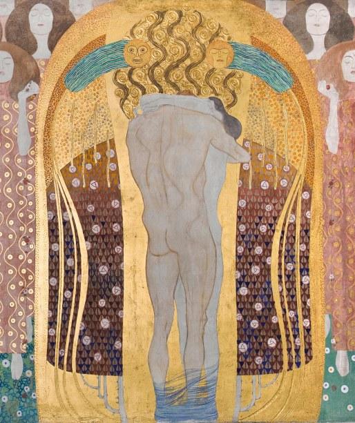 Gustav Klimt, Fregio di Beethoven, dettaglio 3