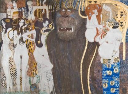 Gustav Klimt, Fregio di Beethoven, dettaglio