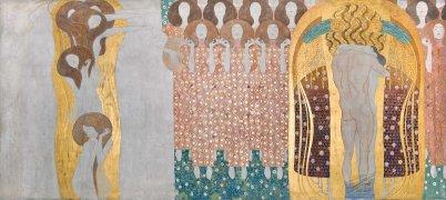 Gustav Klimt, Fregio di Beethoven, Inno alla gioia, 1902