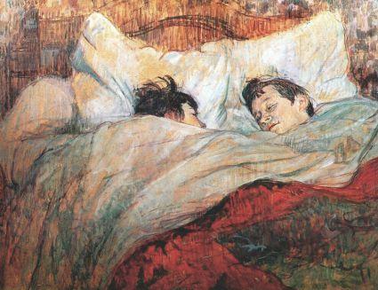 Henri de Toulouse-Lautrec, a letto, 1893