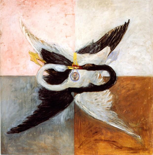 Hilma af Klint, Cigni, 1914