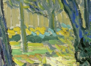 82_Vincent van Gogh, Sottobosco, 1889 dett 2