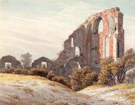 Caspar David Friedrich, Le rovine di Eldena, 1825