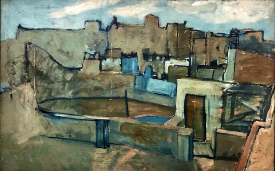 Pablo Picasso, I tetti di Barcellona, 1903