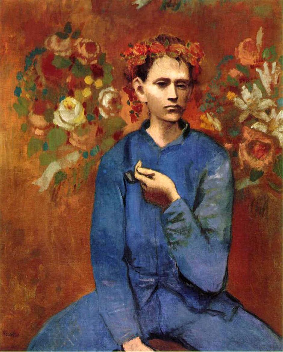 Pablo Picasso, Ragazzo che fuma la pipa, 1905