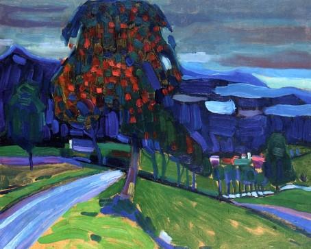 Vassily Kandinsky, Autunno a Murnau, 1908