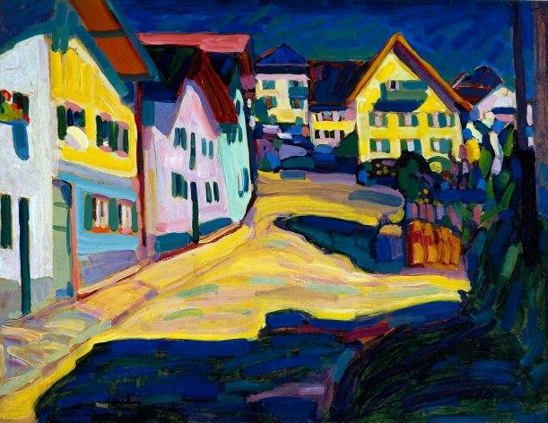 Vassily Kandinsky, Murnau,Burggrabenstrasse 1, 1908