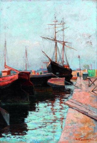Vassily Kandinsky, Porto di Odessa, 1898